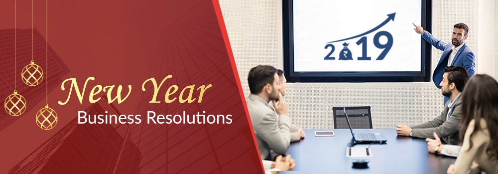 New year business resolution 2019